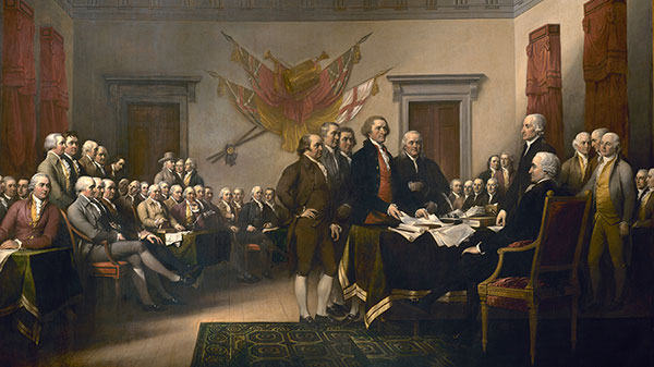 cuadro-john trumbull-la-declaracion-de-Independencia