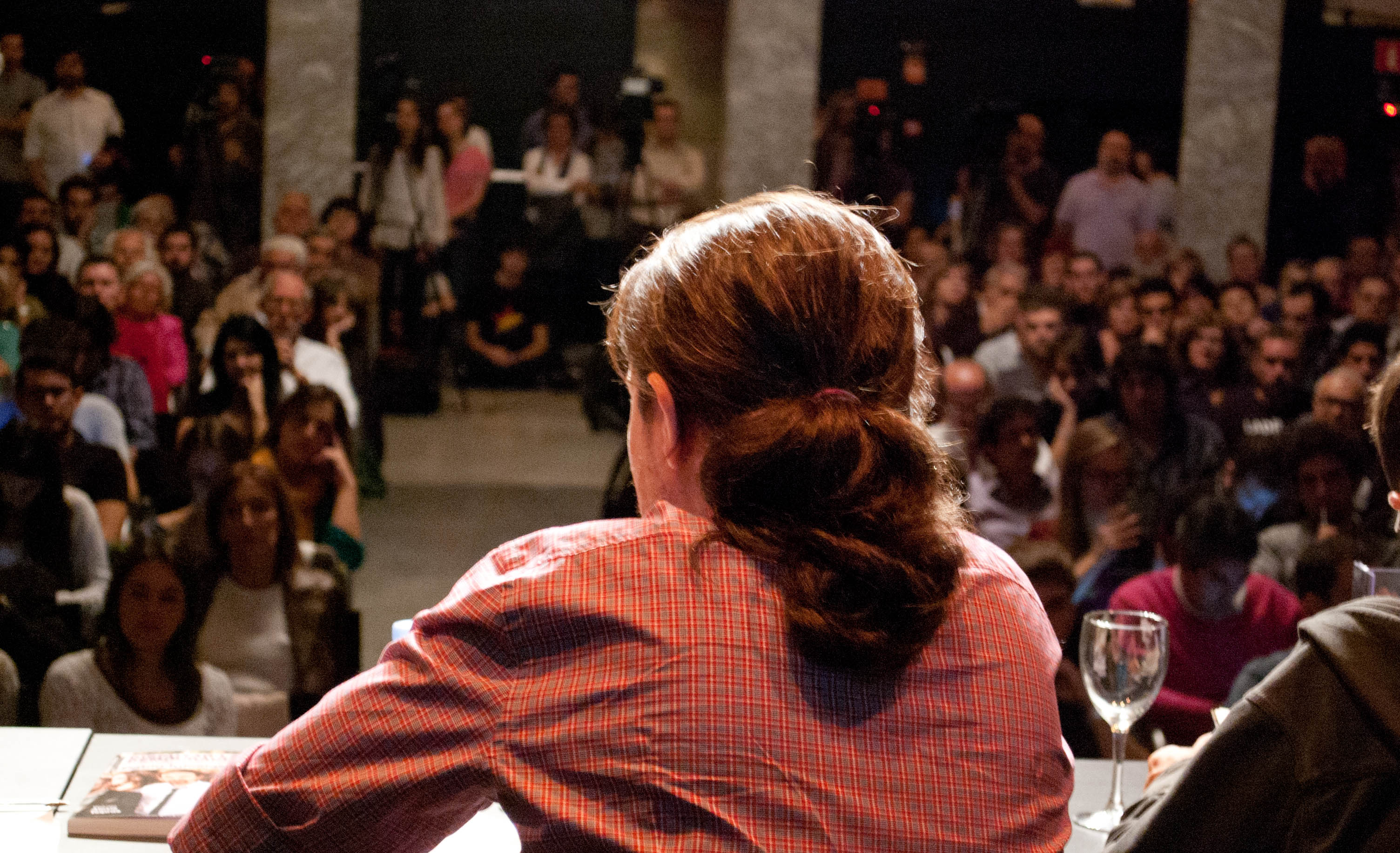 Pablo Iglesias durante su intervención.