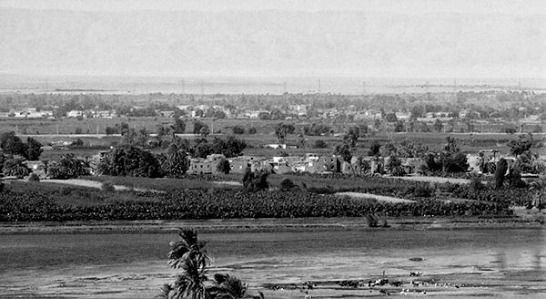 Paisaje del valle del Nilo