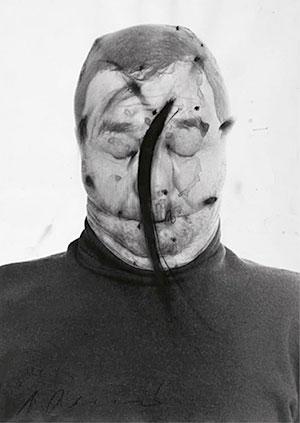 Arnulf Rainer, Sin título (serie Face Farce 1970-1971