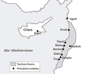 fenicios-mapa-ciudades-mediterraneo-oriental