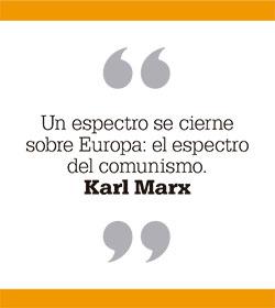 Un espectro se cierne sobre Europa: el espectro del comunismo. Karl Marx