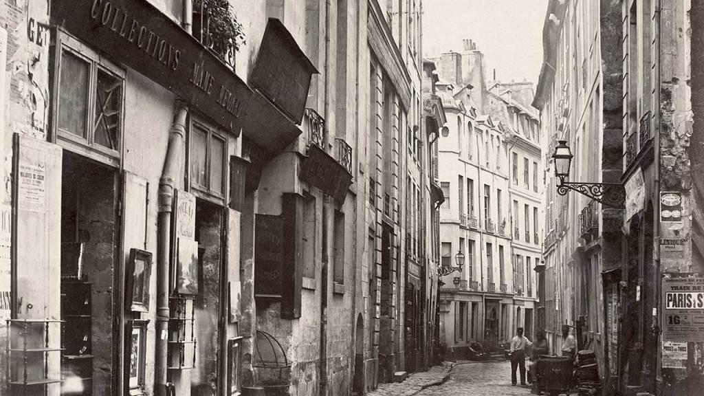 Charles_Marville,_Rue_du_Jardinet,_ca._1853–70